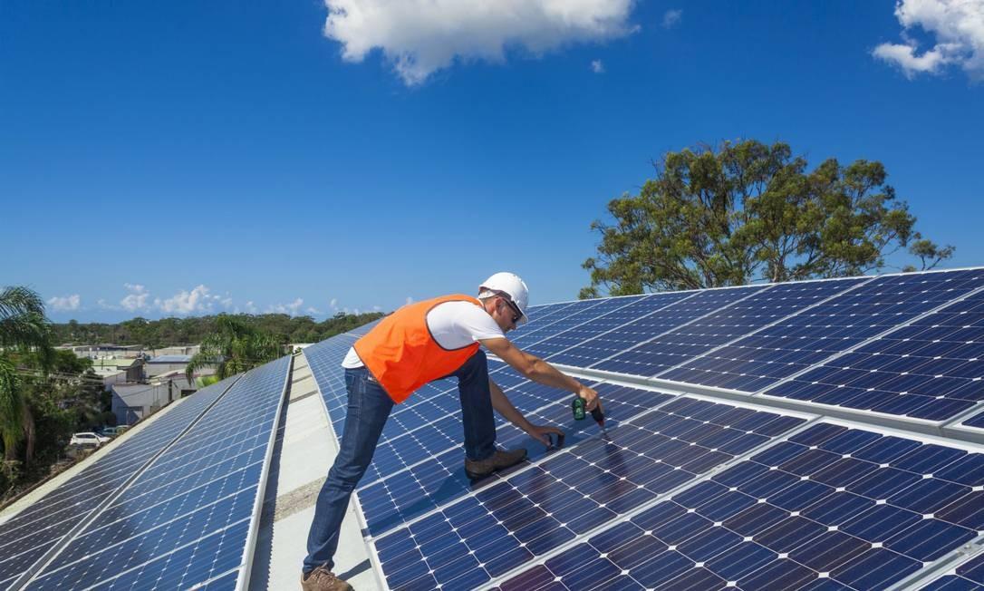 Painéis de energia solar Foto: Reprodução