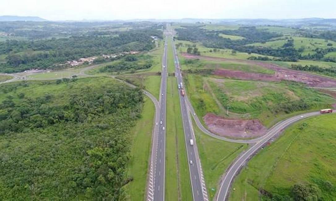 Primeira concessão de rodovias de 2020 foi considerada um sucesso Foto: Reprodução