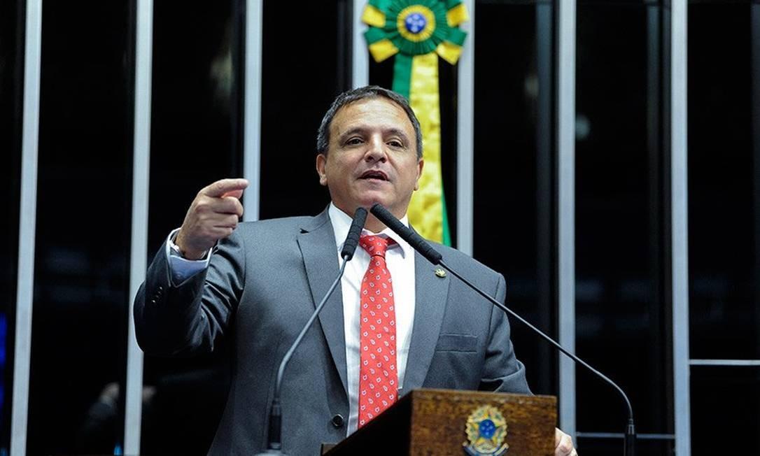 Senador Marcio Bittar, do MDB do Acre Foto: Agência Senado