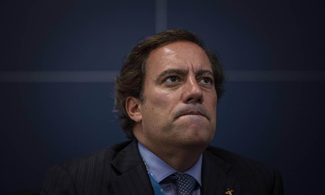 Presidente da Caixa Economica Federal, Pedro Guimarães Foto: Daniel Marenco / Agência O Globo