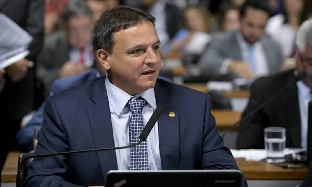 O senador Marcio Bittar (MDB-AC) é o relator do pacto federativo Foto: Agência Senado