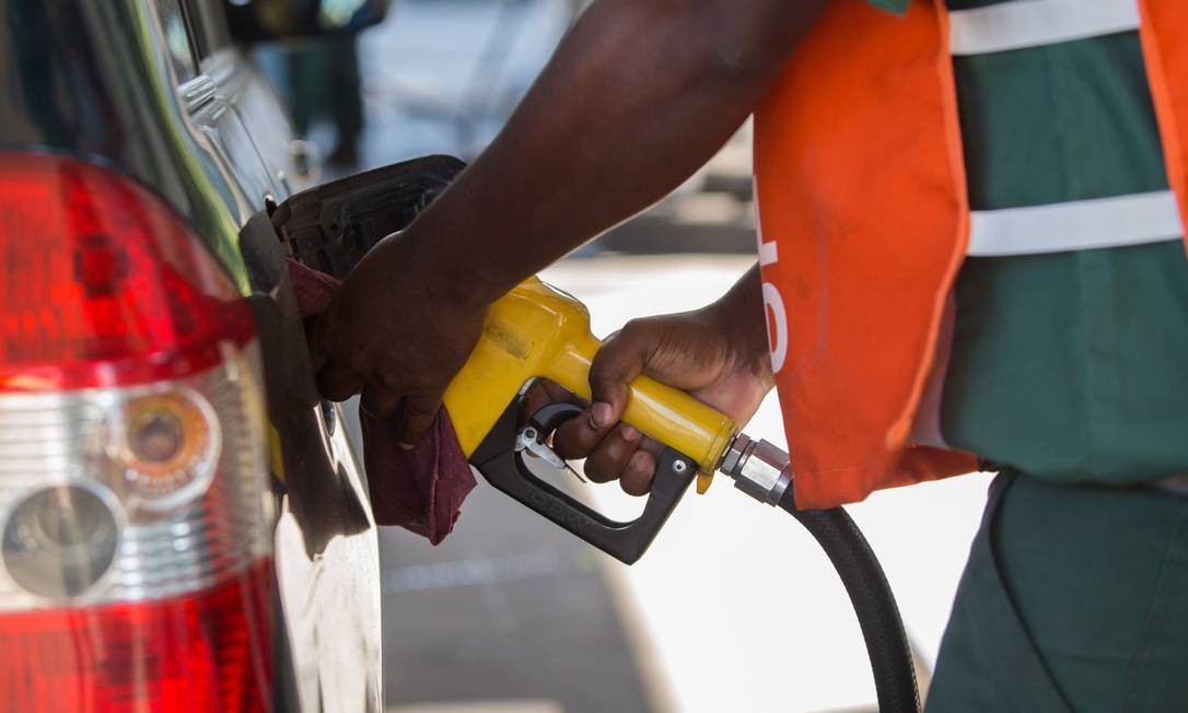 ECO, Rio de Janeiro (RJ), 14/08/2018 - Preços baixos do etanol em postos do Rio. Foto: Emily Almeida / Agencia O Globo Foto: Emily Almeida / Agência O Globo