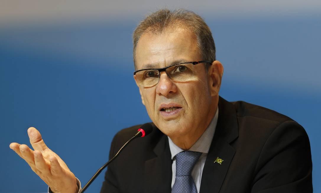 O ministro de Minas e Energia, Bento Albuquerque Foto: Gabriel de Paiva / Agência O Globo/07-11-201