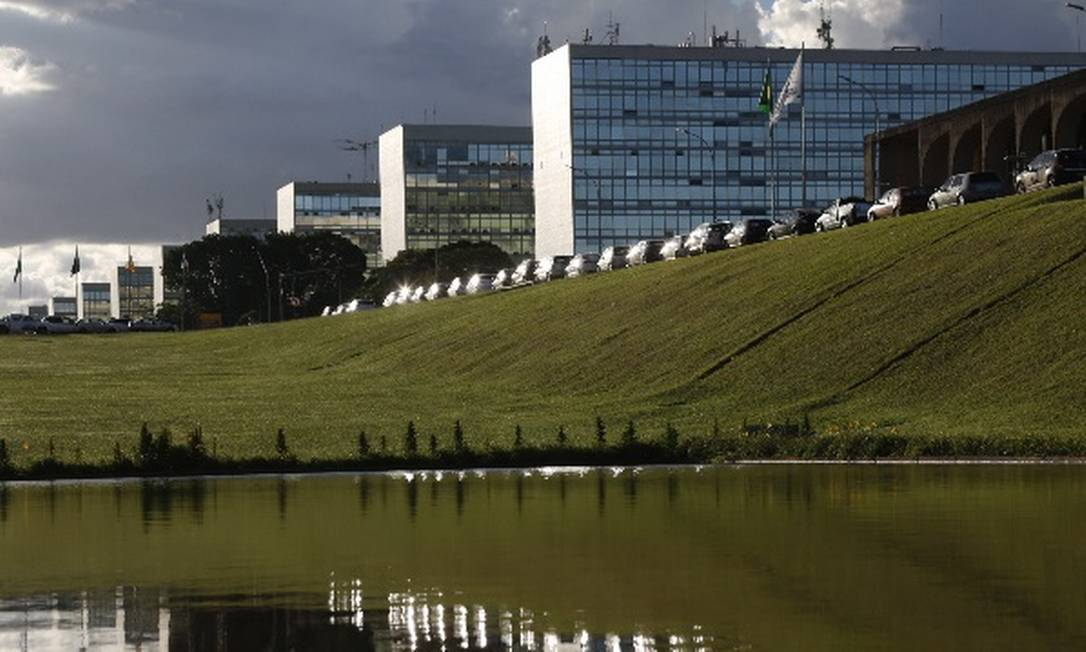 Esplanada dos Ministérios: alíquotas progressivas entram em vigor em março Foto: Michel Filho/Agência O Globo