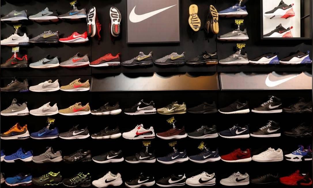 Produtos da Nike serão distribuídos com esclusividade pela Centauro no Brasil Foto: Reuters