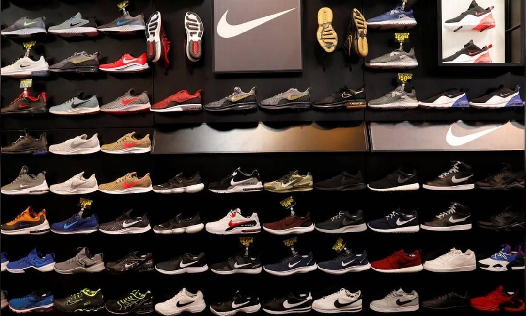 Produtos da Nike serão distribuídos pelo grupo dono da Centauro no Brasil Foto: Reuters