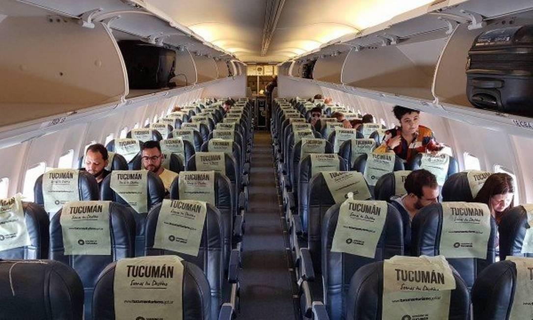 Aéreas de baixo custo cobram por baggem de bordo Foto: Agência O Globo