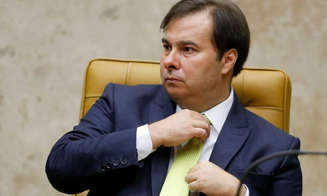 Rodrigo Maia, presidente da Câmara dos Deputados Foto: Jorge William - Agência O Globo