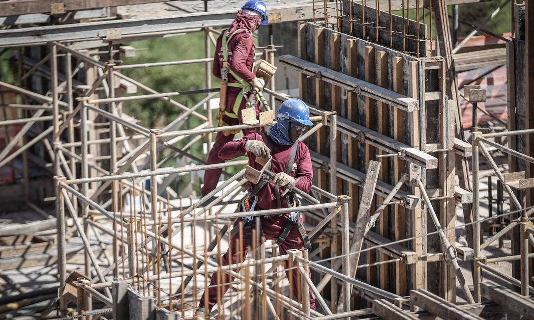 Caixa vai estender linha de crédito imobiliário atrelada à inflação para as construtoras Foto: André Coelho / Agência O Globo