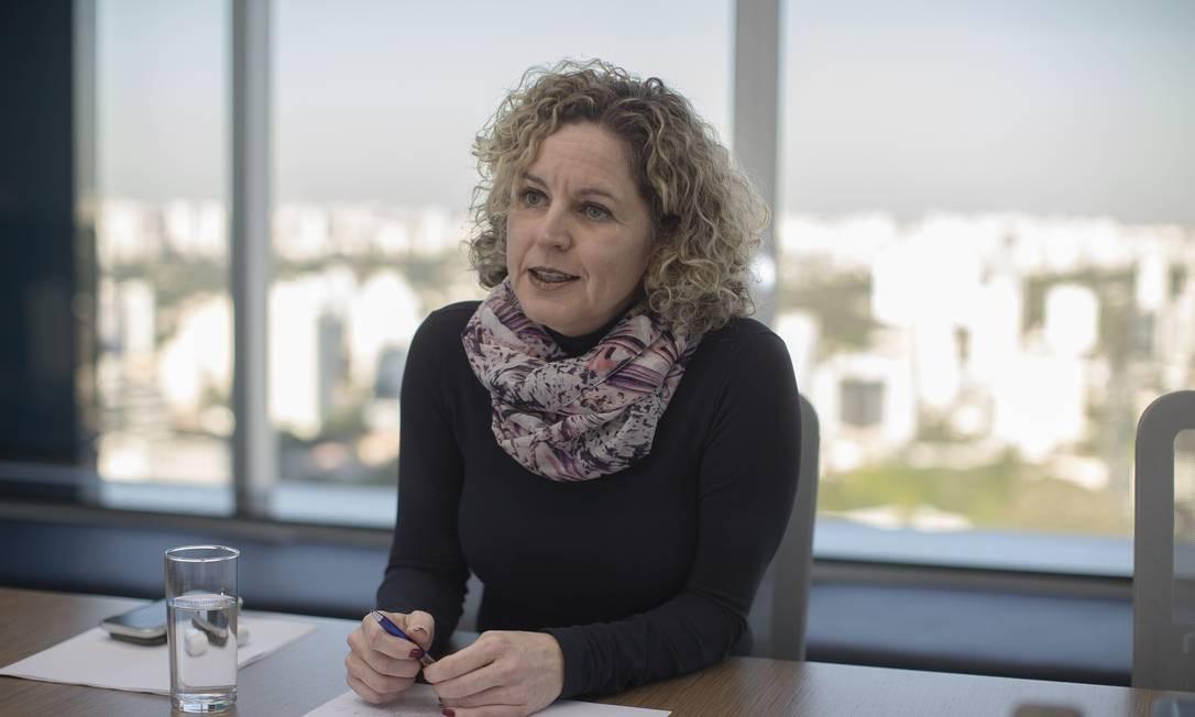 Ana Carla Abrão, ex-secretária de Fazenda de Goiás e sócia da consultoria Oliver Wyman Foto: Edilson Dantas / Agência O Globo