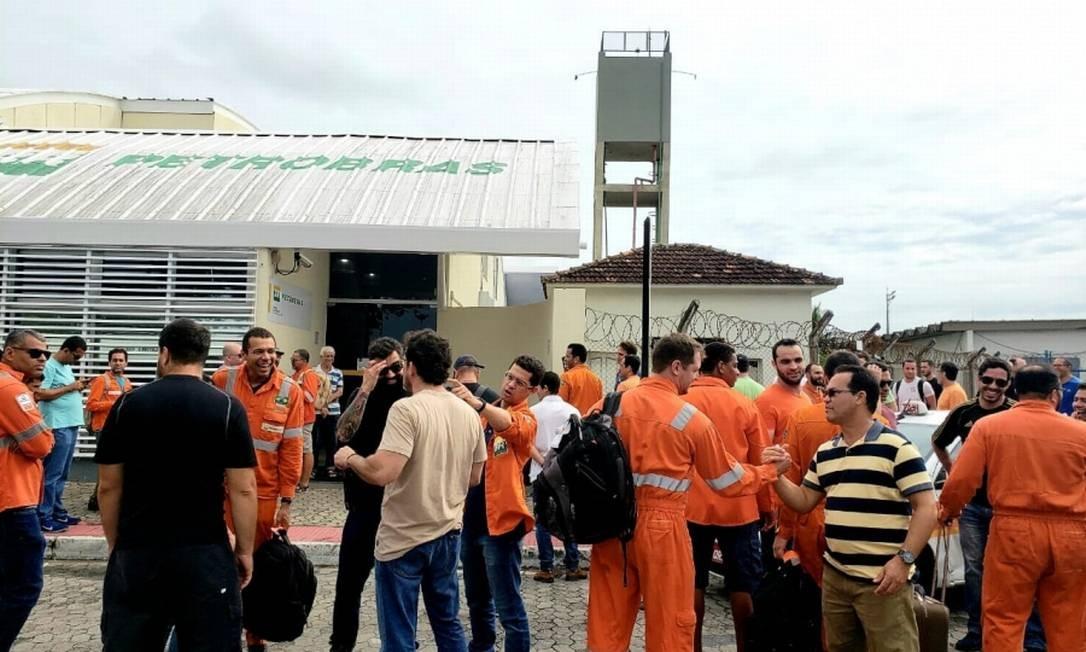 Petroleiros entregam proposta ao TST para acabar com a greve Foto: Reprodução