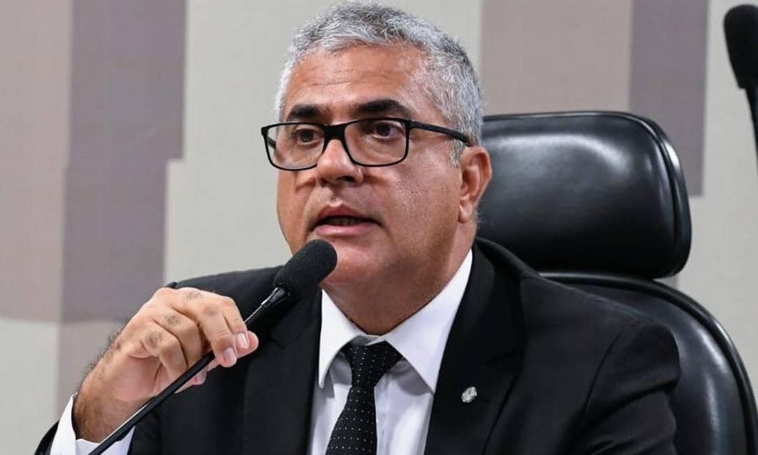 Deputado Christino Áureo (PP-RJ), relator da MP que cria o emprego Verde Amarelo, apresenta seu parecer Foto: Divulgação