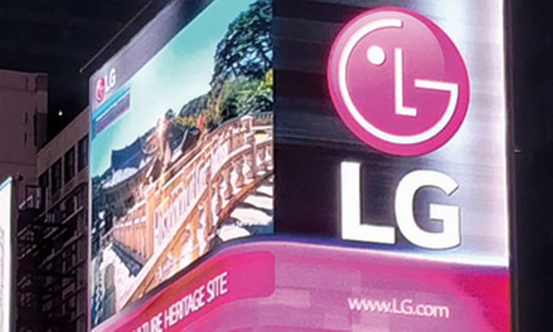 A LG Eletronics tem cerca de 1.000 funcionários na unidade de Taubaté, no interior paulista Foto: Divulgação