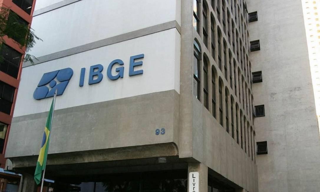 Prédio do Instituto Brasileiro de Geografia e Estatística (IBGE) Foto: Reprodução