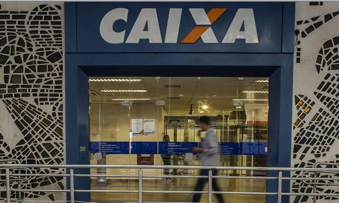 Caixa não antecipará mais a segunda parcela do auxílio emergencial Foto: Guito Moreto/Agência O Globo