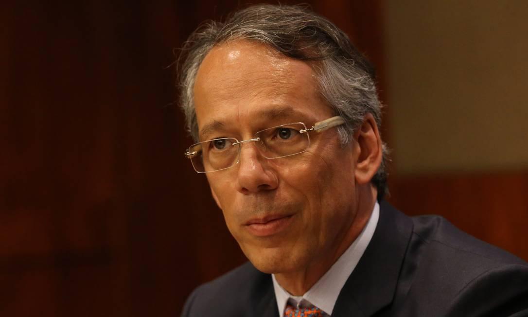 Candido Bracher, presidente do Itau (09/11/2016) Foto: Marcos Alves / Agência O Globo