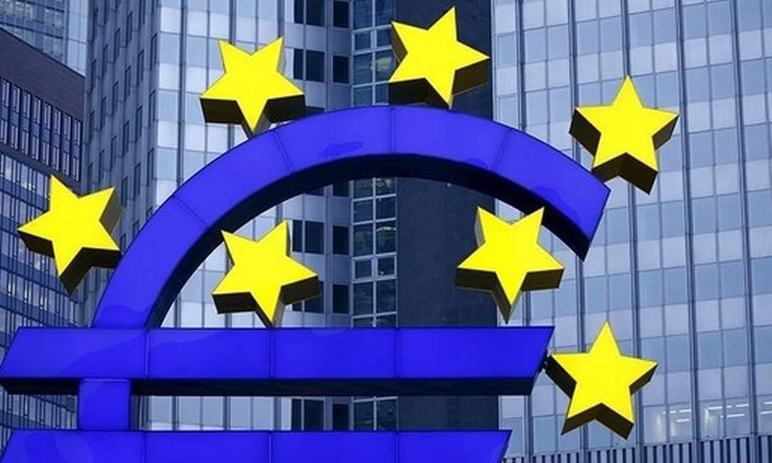 Fachada da sede do Banco Central Europeu Foto: Arquivo
