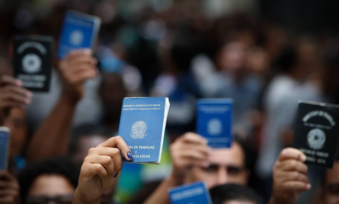 Governo lança pacote de R$ 40 bilhões para custear folha de pagamento de pequenas e médias empresas Foto: Pablo Jacob / Agência O Globo
