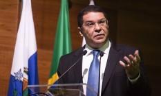 Secretário do Tesouro, Mansueto Almeida, participa do seminário 'E agora, Brasil?' Foto: Fernando Lemos / Agência O Globo