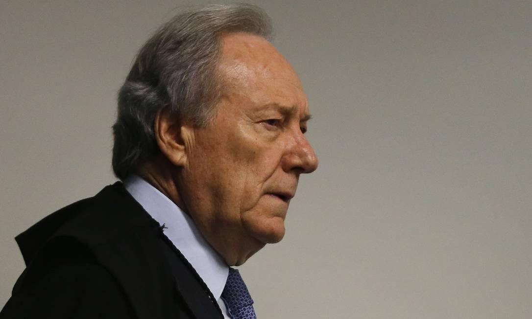 Ministro Ricardo Lewandowski, do STF Foto: Jorge William / Agência O Globo