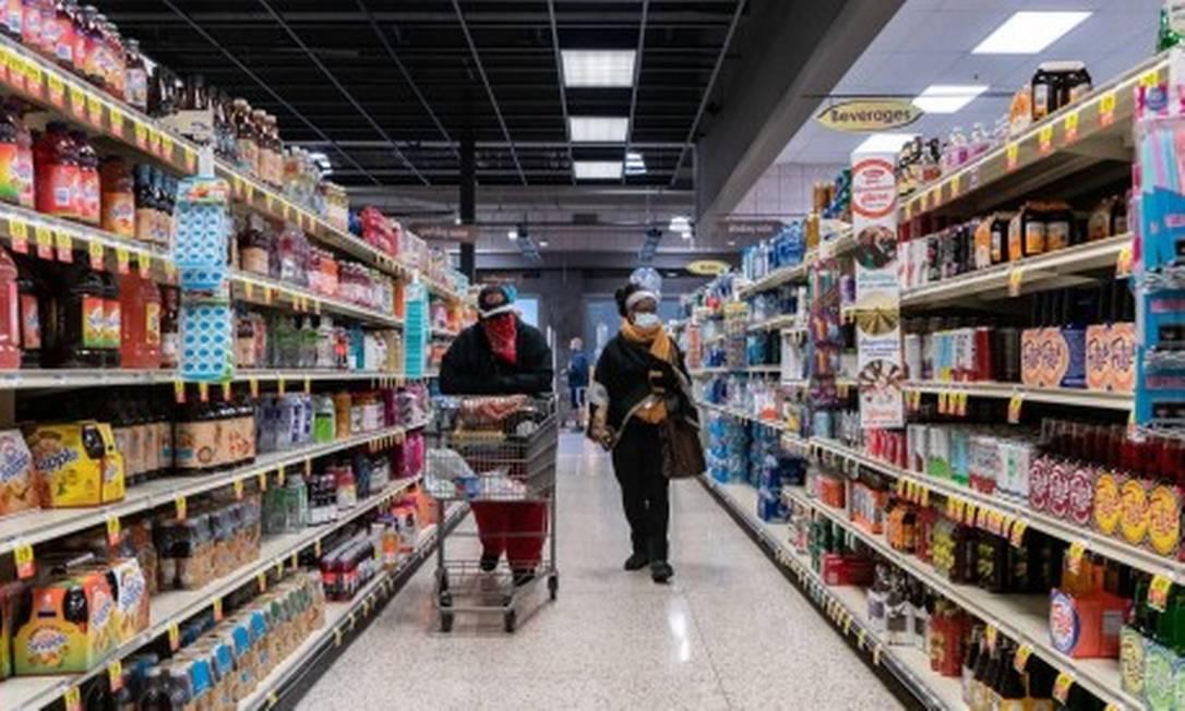 Supermercado nos EUA Foto: Reprodução