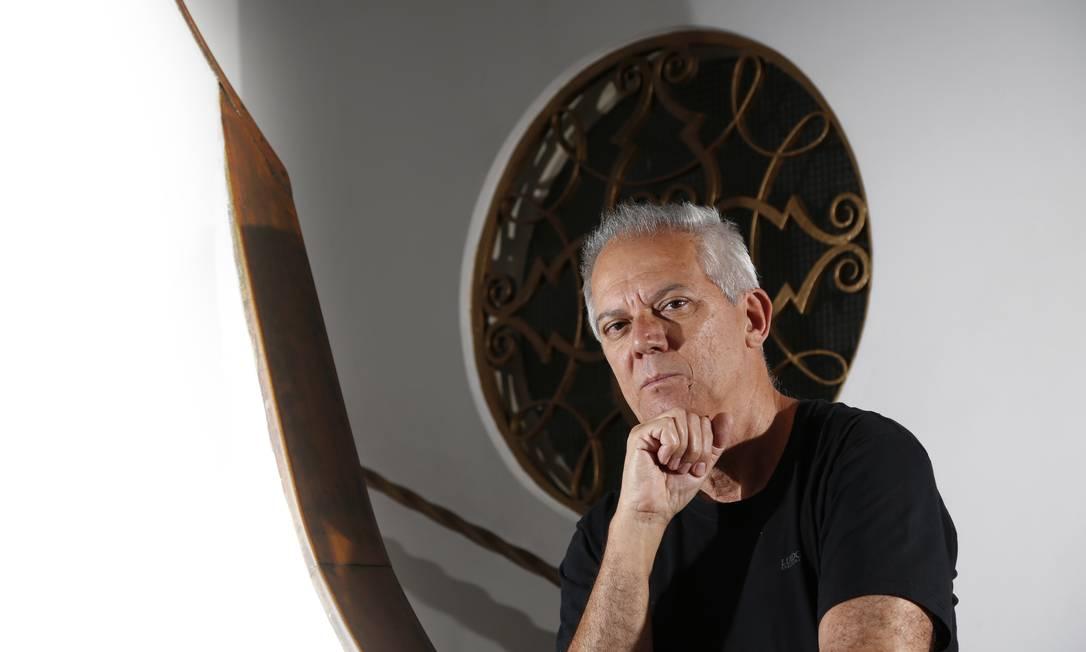 O empresário Laert Lima, dono do restaurante Rio Jordão, no centro do Rio Foto: Fabio Rossi / Agência O Globo