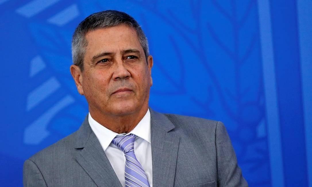 O ministro a Casa Civil, Walter Braga Netto, à frente do projeto. Foto: Adriano Machado / Reuters