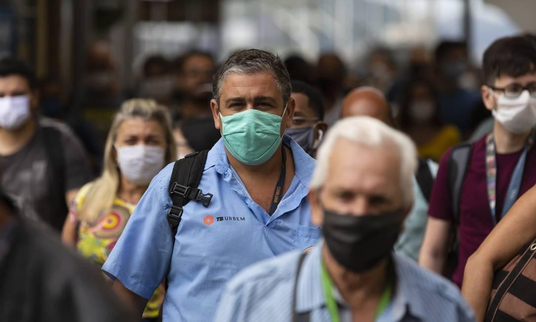 A pandemia de coronavírus fez o consumo despencar, afetando as empresas Foto: Leo Martins / Agência O Globo