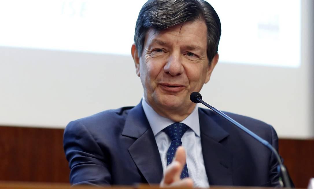 Roberto Setubal, co-presidente do Conselho de administração do banco Itaú Foto: Edilson Dantas / Agência O Globo