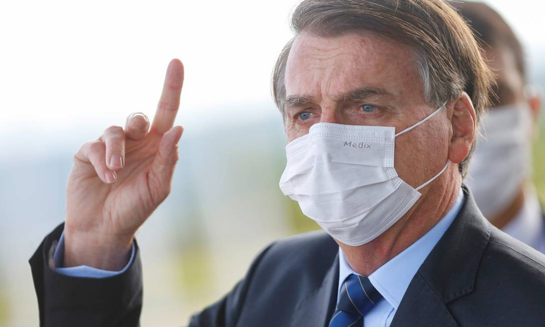 Bolsonaro defende os 11 vetos ao marco do saneamento básico Foto: Adriano Machado / Reuters