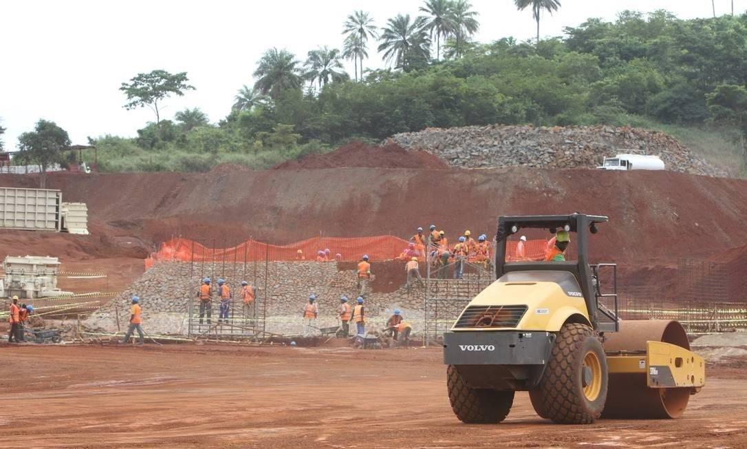 Mina de Simandou, na Guiné, considerada a Carajás africana, é uma das maiores do mundo Foto: Divulgação