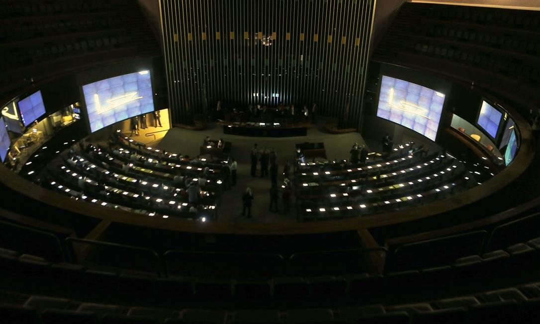 Plenário da Câmara dos Deputados em novembro de 2019 Foto: Jorge William / Agência O Globo
