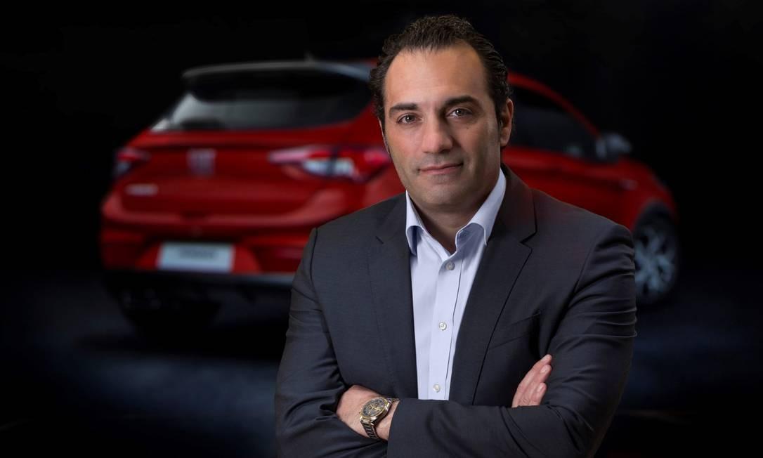 Antonio Filosa, presidente para a América Latina da Fiat Chrysler Foto: Leo Lara / Agência O Globo
