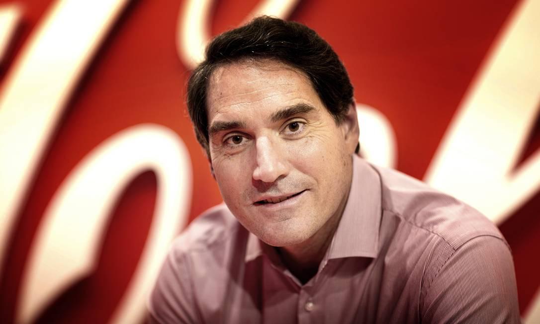 Henrique Braun, presidente da Coca Cola Brasil, diz que depois de dois meses de pausa publicitária, empresa volta a produzir comerciais Foto: Divulgação / Agência O Globo