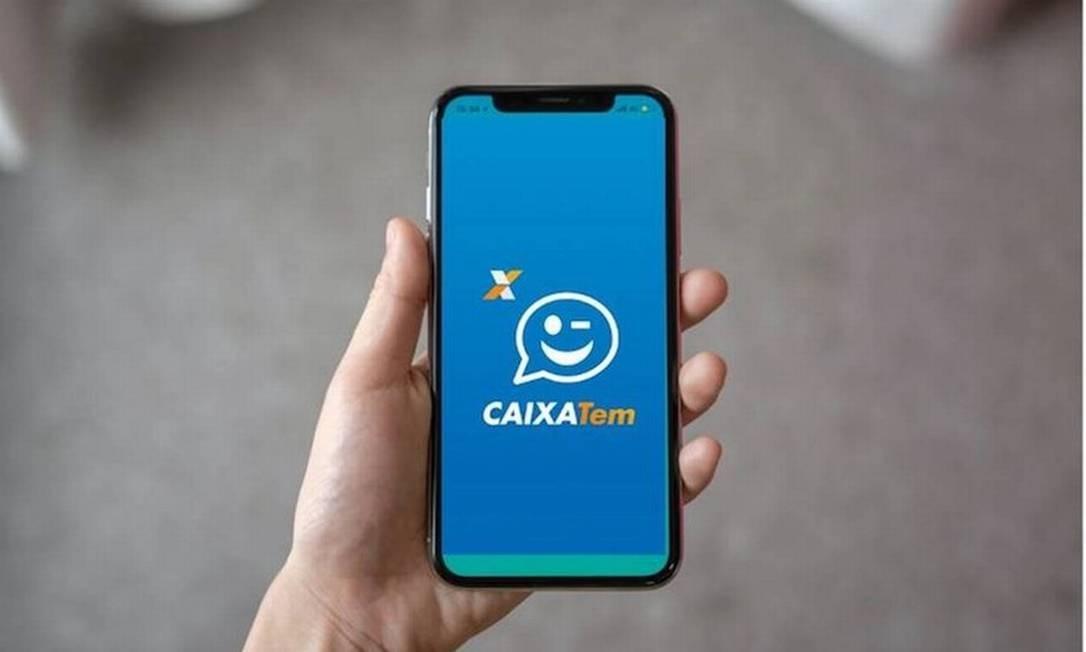 Aplicativo Caixa Tem para acessar a conta digital do banco Foto: Divulgação
