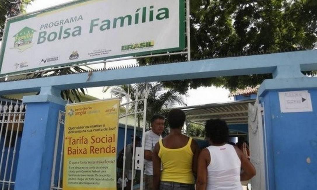 Bolsa Família seria substituído por novo programa de transferência de renda para o país — o Renda Brasil Foto: Arquivo