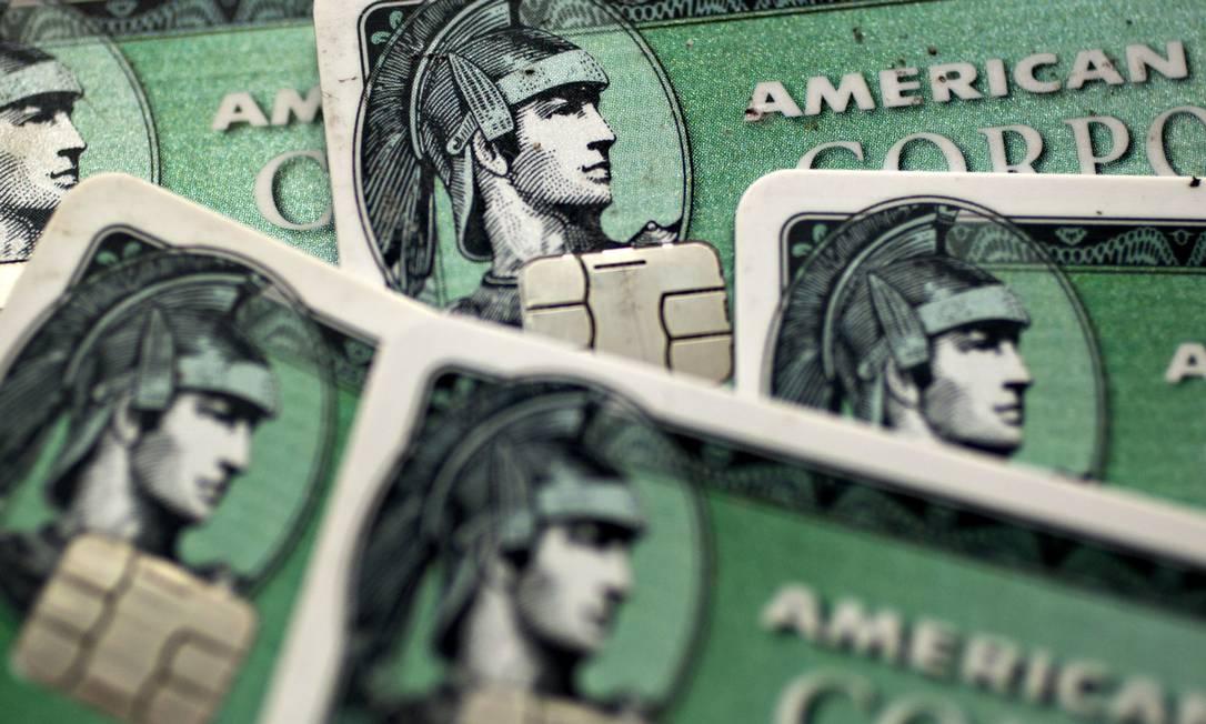 Amex ganha licença para compensação de cartões na China Foto: Andrew Harrer / Bloomberg