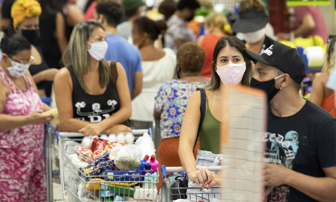 Presidente quer que redes de supermecados segurem preços dos itens da cesta básica Foto: Ana Branco / Agência O Globo