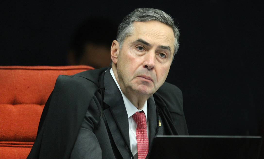 Ministro Luís Roberto Barroso, presidente do TSE Foto: Carlos Moura / Agência O Globo
