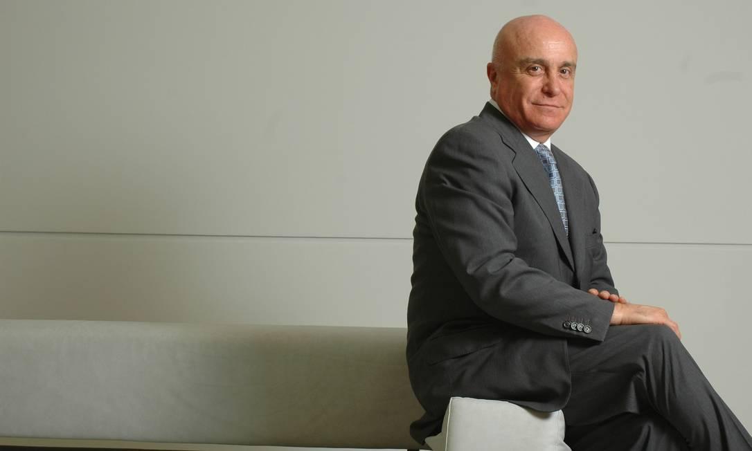 O secretário especial de Desestatização, Desinvestimento e Mercados do Ministério da Economia, Salim Mattar Foto: Sergio Zacchi / Agência O Globo