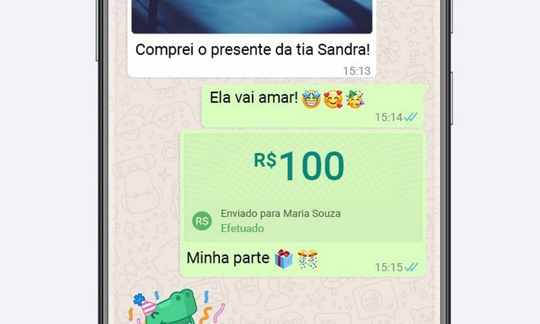 Ferramenta é tão simples como enviar uma foto pelo WhatsApp Foto: Divulgação/Visa