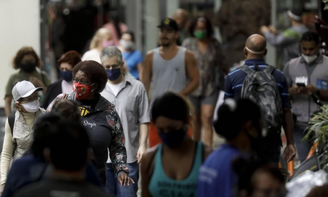 Bilionários latino-americanos ficaram imunes à crise econômica provocada pela pandemia do coronavírus, enquanto milhares perderam seus empregos Foto: Gabriel de Paiva / Agência O Globo
