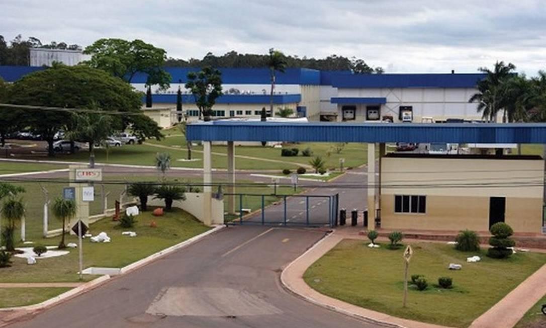 Fábrica da JBS em Dourados apresentou mais de mil casos de Covid-19 Foto: Divulgação