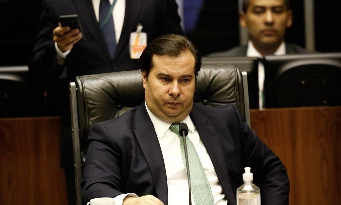 Rodrigo Maia, presidente da Câmara Foto: Pablo Jacob/Agência O Globo