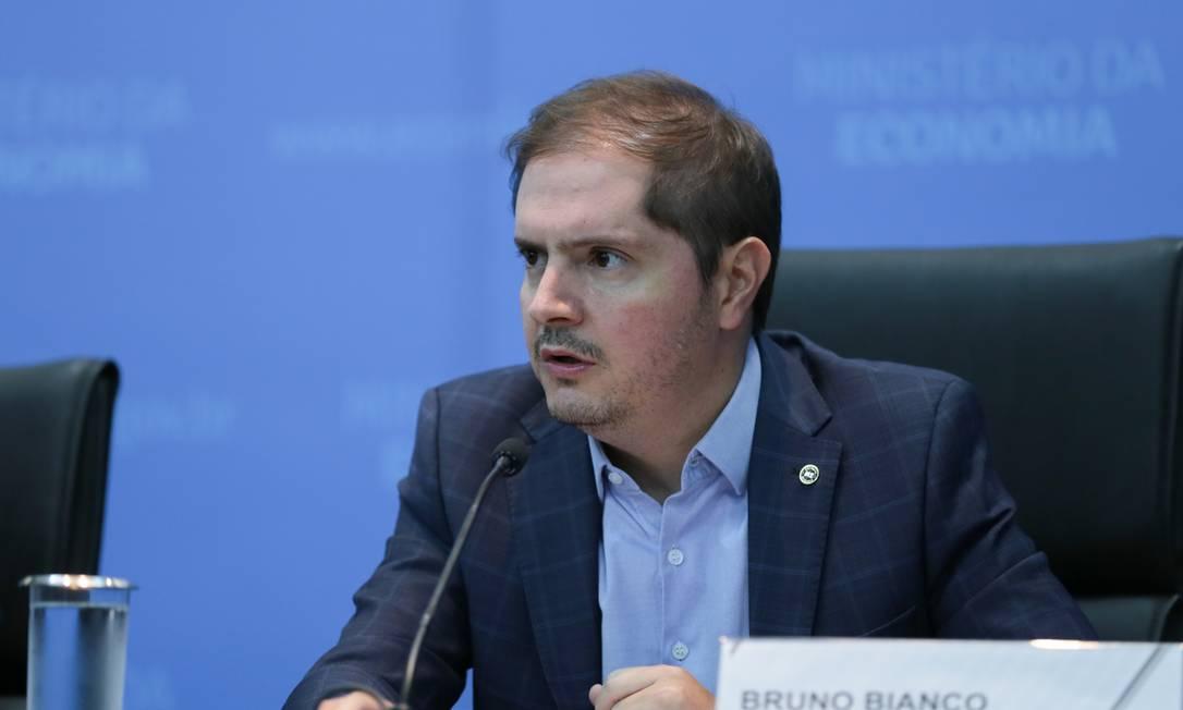 O secretário especial de Previdência e Trabalho, Bruno Bianco Foto: Gustavo Raniere / Agência O Globo