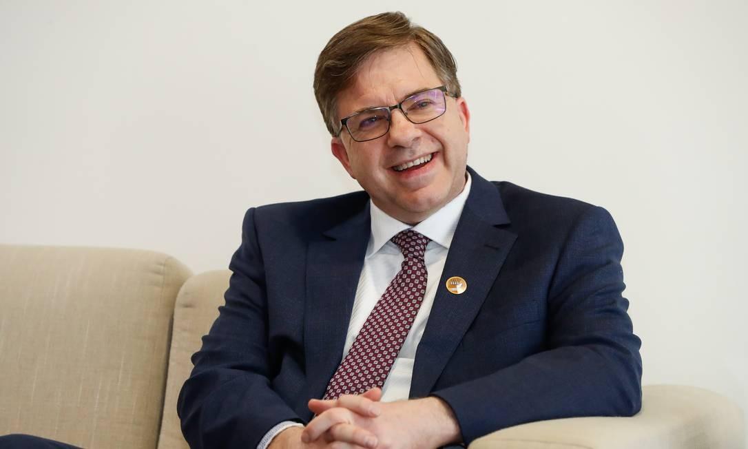 Embaixador dos EUA, Todd Crawford Chapman, diz que seleção de fornecedor 5G não é questão comercial Foto: Agência O Globo
