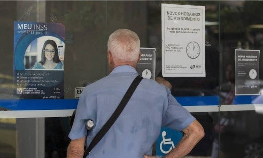 Atendimento presencial nas agências do INSS está suspenso devido à pandemia do novo coronavírus Foto: Arquivo