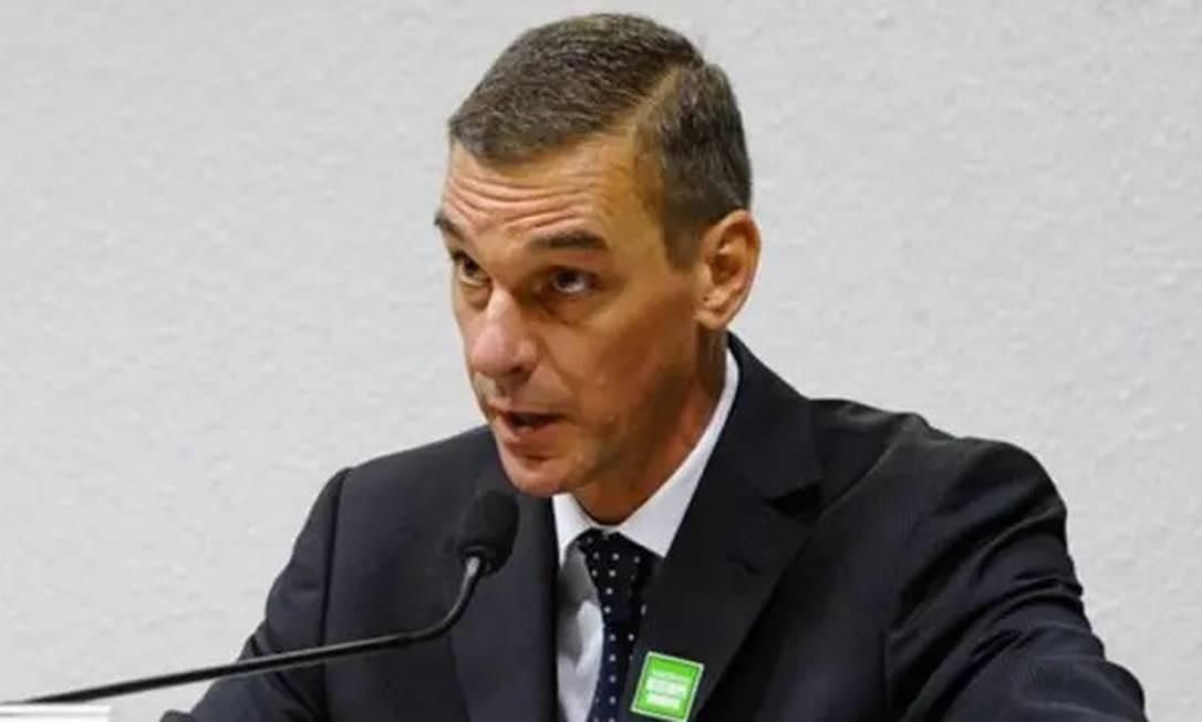 Andre Brandão, ex-presidente do HSBC no Brasil e e indicado para a presidência do Banco do Brasil Foto: Agência Senado