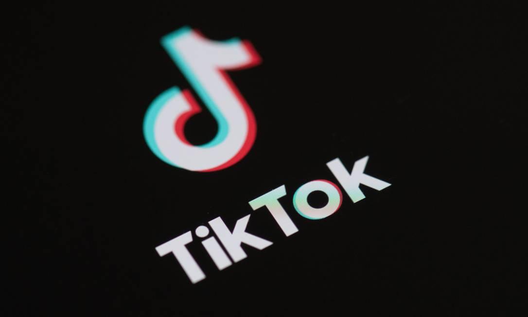 Logo do Tik Tok Foto: AFP