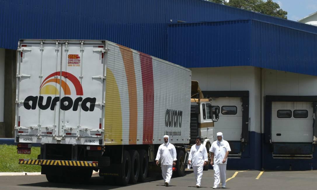 Aurora diz que não foi notificada pela China Foto: Agência O Globo